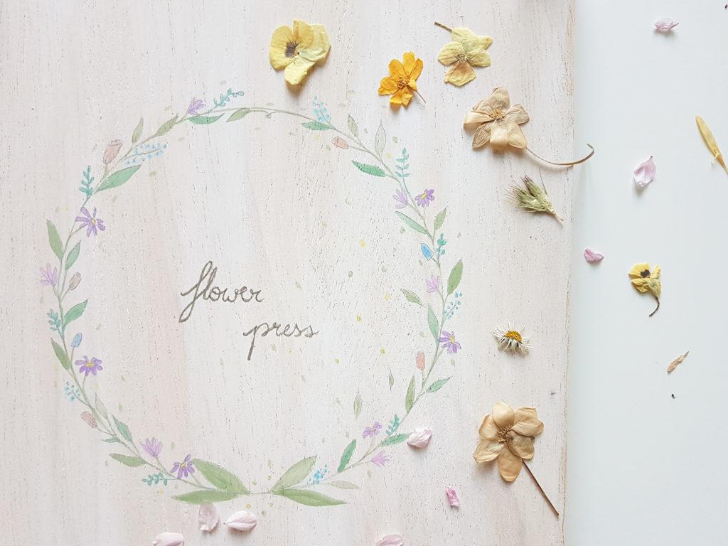flower press diy
