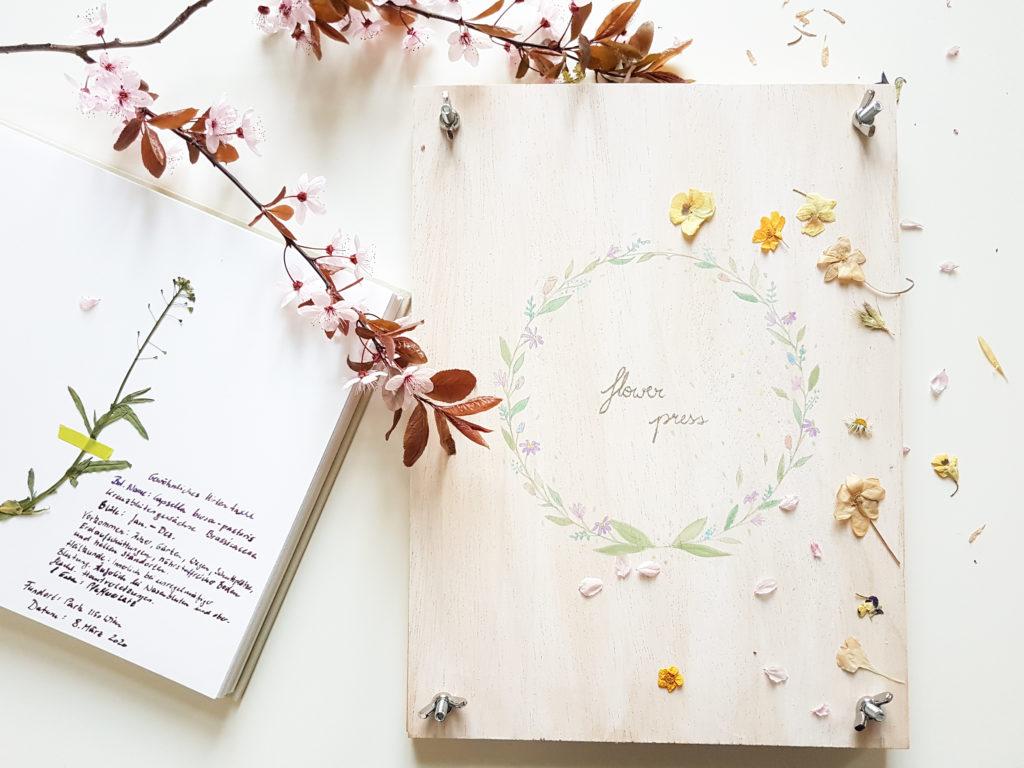 Blumenpresse DIY